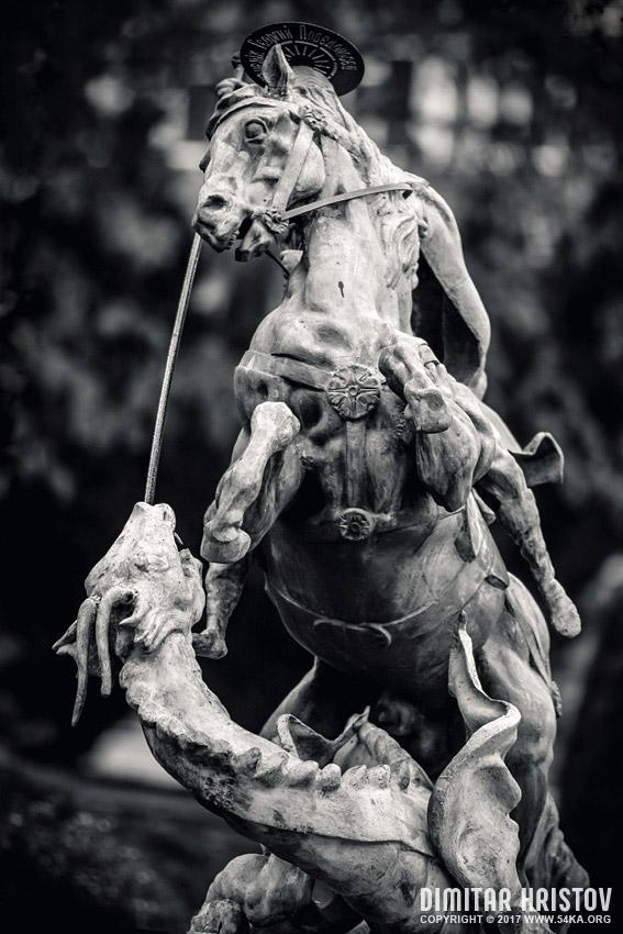 Statue Of St George Killing The Dragon 54ka Photo Blog