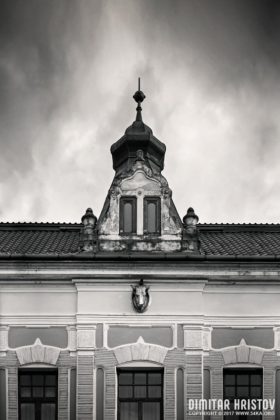 Historic Architecture in Oradea photography urban black and white  Photo