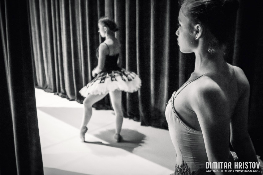Ballet Dancer   Backstage photography other black and white  Photo