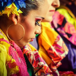 Carnival dancers from Barranquilla – Colombia – Woman portrait