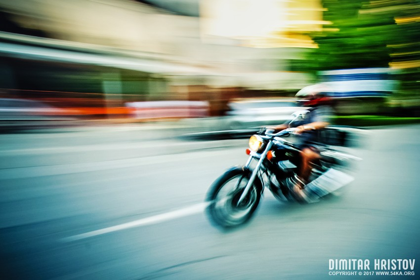 Biker riding motorbike   Abstract motion photography other daily dose  Photo