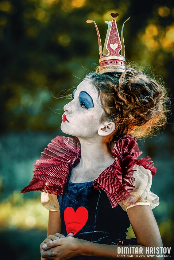 Little princess of hearts   Alice in Wonderland photography portraits featured fashion  Photo