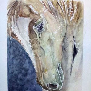 Watercolor Fan Art by Katarzyna Skrzypczak