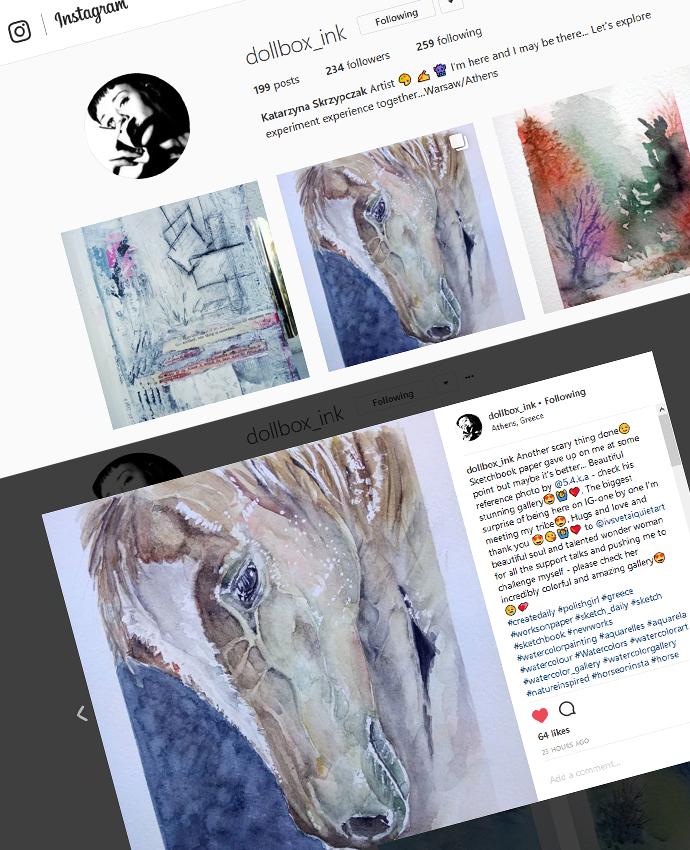 Watercolor Fan Art by Katarzyna Skrzypczak stream from fans  Photo