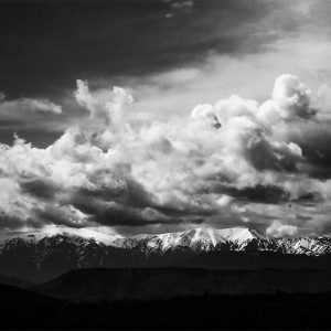 Mountain – Black and White Landscape