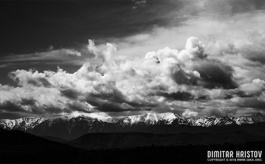 Mountain   Black and White Landscape photography landscapes black and white  Photo