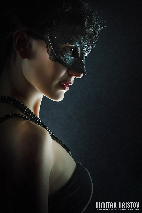 Hero Fashion Eye Mask photography portraits featured fashion  Photo