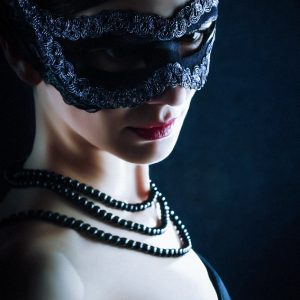 The Black Mask – Mysterious Woman
