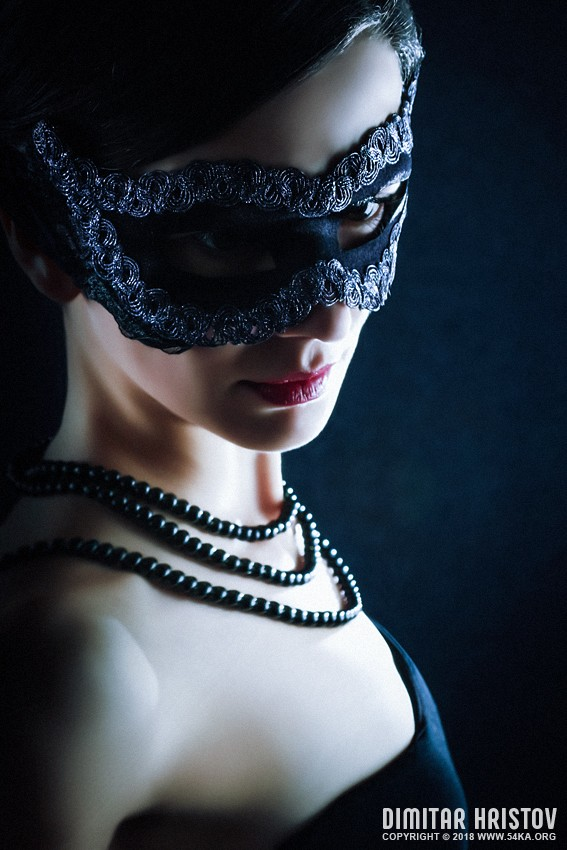 The Black Mask   Mysterious Woman photography portraits featured fashion  Photo