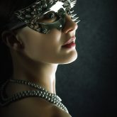 The Spike Women Eye Face Mask