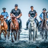 Police – Running horses on the water