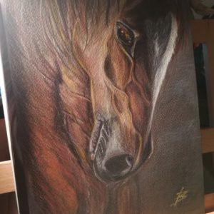 FenArt Painting by Violeta Kuiumdjieva