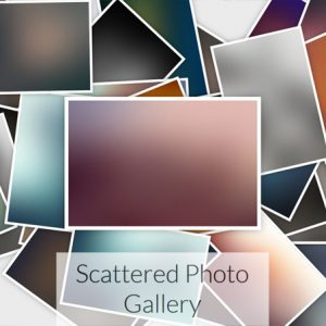 Scattered Photo Gallery – JavaScript – jQuery