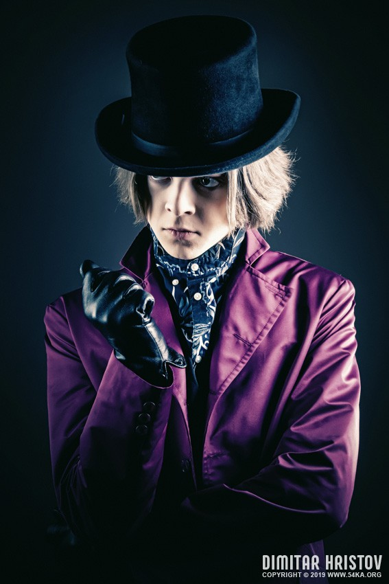 Willy Wonka Portrait photography portraits featured  Photo