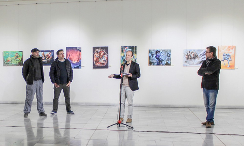 "Exhibition of the Bulgarian Association of Independent Artists and Animators ""Proiko Proikov""   Opening! 54ka news  Photo"