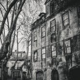 Old European city street – Lisbon, Portugal