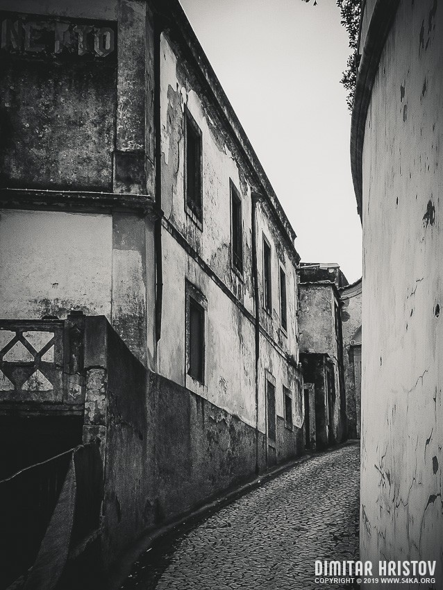 The charming old town of Sintra   Portugal photography urban black and white  Photo