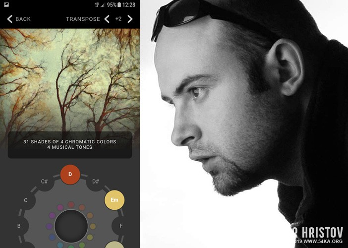 Vivid Harmony by 54ka   The unique app that plays the music of your pictures 54ka news  Photo