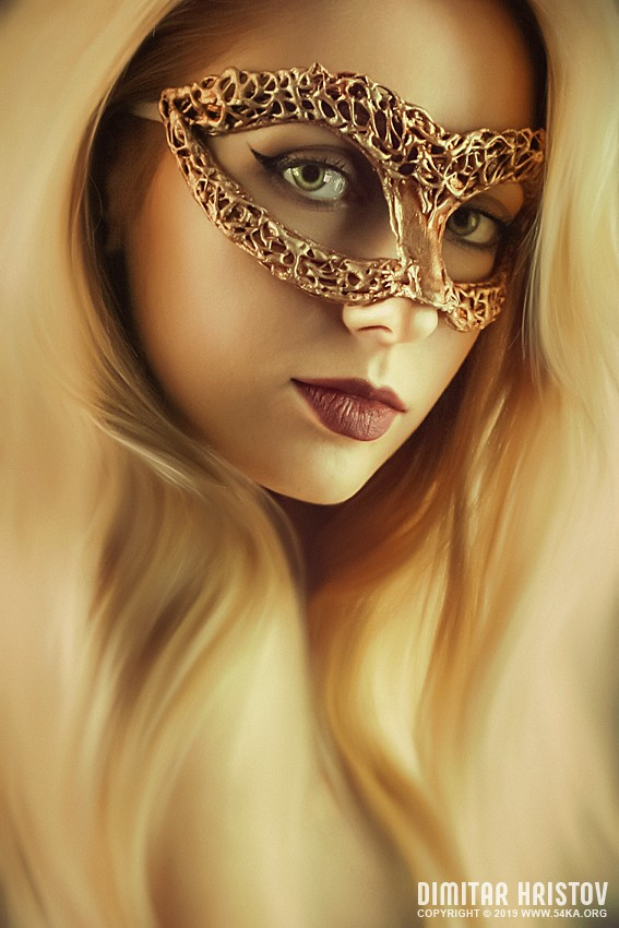 Beauty model woman wearing venetian masquerade carnival   Art and Fashion Photography photography venetian eye mask portraits featured fashion  Photo