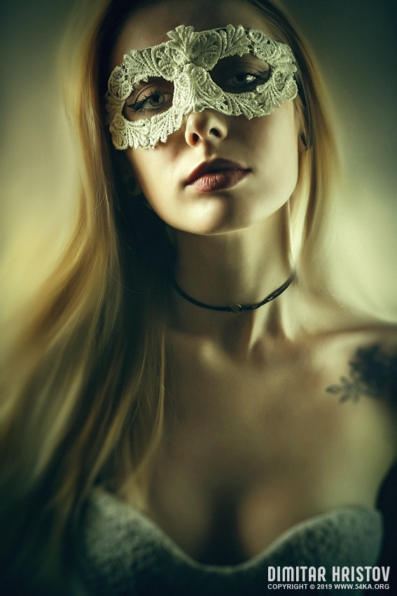Glamour woman with venetian masquerade carnival mask photography venetian eye mask portraits featured fashion  Photo