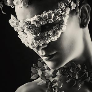 Flower Princess Carnival Mask