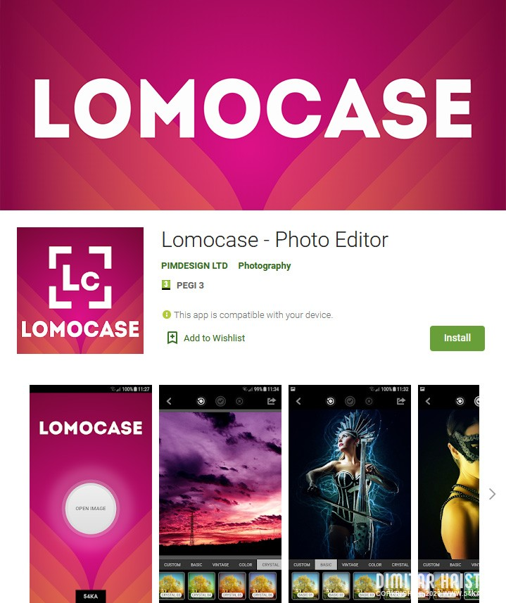 Lomocase   Photo Editor for Android apps applications  Photo
