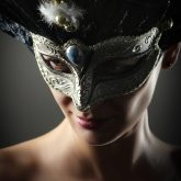Royal venetian mask