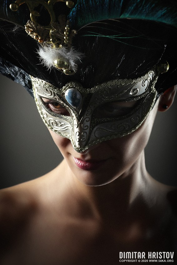 Royal venetian mask photography venetian eye mask featured fashion  Photo