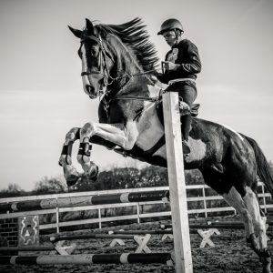 Training day of young riders – Jumping Horses