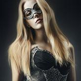 Art Fashion Portrait of Woman Wearing Corset