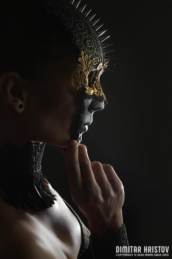 Beautiful Full Face Venetian Masks photography venetian eye mask featured fashion  Photo