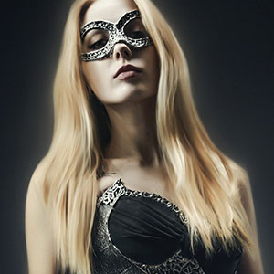 Masked Beauty – Studio Fashion Portrait