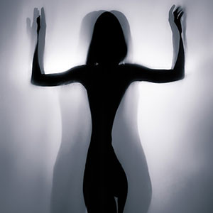 Beauty silhouette pose of a girl – Backlight Photography