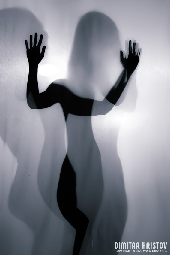 Dancing girl on backlight   Hands silhouette   Art Photography photography other featured black and white  Photo