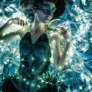 Fairy tales luminance background – Fashion photography