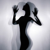 Girl on backlight – Dancing silhouette – Art Photography