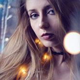 Luminance girl portrait – Art photography