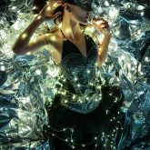 Glamour woman fairy tale – Fashion portrait